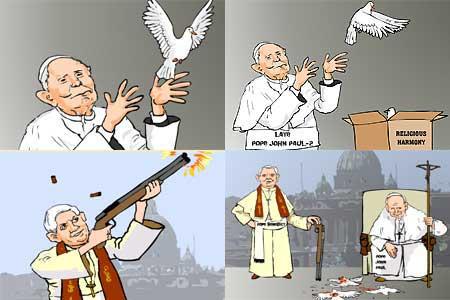 Benedicto XVI, según Al Yazira
