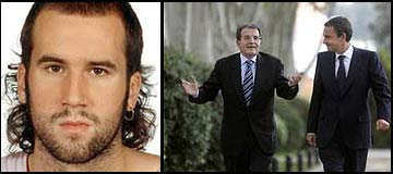 Garikitz Aspiazu Rubia e Romano Prodi e Zapatero foto