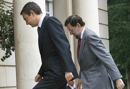 Zapatero y Rajoy, dos hombres tranquilos arrastrados por sus malos consejeros hacia un clima de crispación