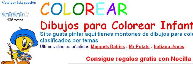 Dibujos colorear\