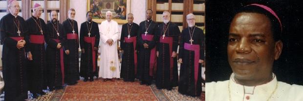El Vaticano destituye a dos obispos centroafricanos por tener mujer e hijos