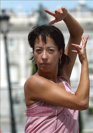 La bailaora Belén Maya, en solitario, con 'Dibujos'