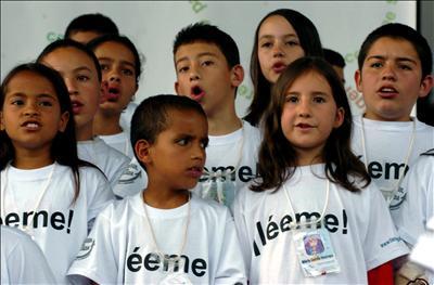 Niños en el Congresito