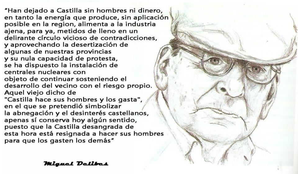 """Castilla, di pronto: """"¡Basta!"""" (Soneto sobre unas palabras de Delibes)"""
