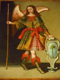 Arcángel Rafael, que en Tartanedo. (En la capilla de los ángeles de Tartanedo)