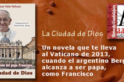 """""""La Ciudad de Dios"""" novela de Juan Pablo Mañueco"""