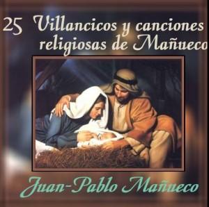 25 Villancicos y canciones religiosas de Mañueco (Portada)