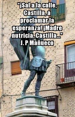 """""""Himno cultural a Castilla"""" o """"Madre nutricia, Castilla"""", de Juan Pablo Mañueco"""