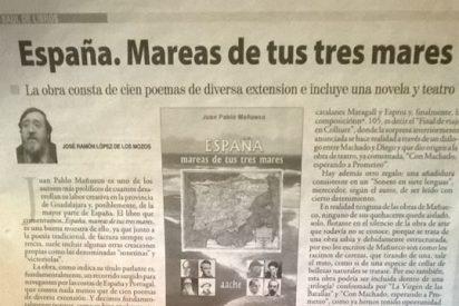 """Crítica literaria de """"España, mareas de tus tres mares"""""""