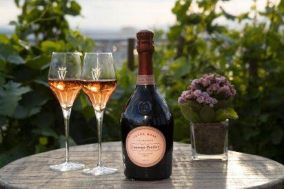 La TERRAZA del HOTEL WELLINGTON se viste de LAURENT-PERRIER Cuvée Rosé