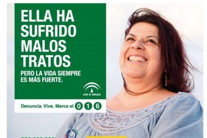 La mujer maltratada... en Andalucía
