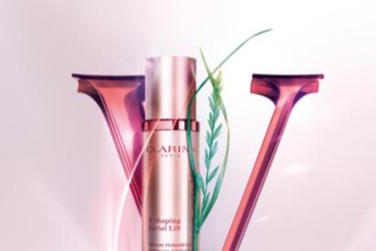 'V Shaping Facial Lift', el nuevo Serum contorno de rostro de Clarins