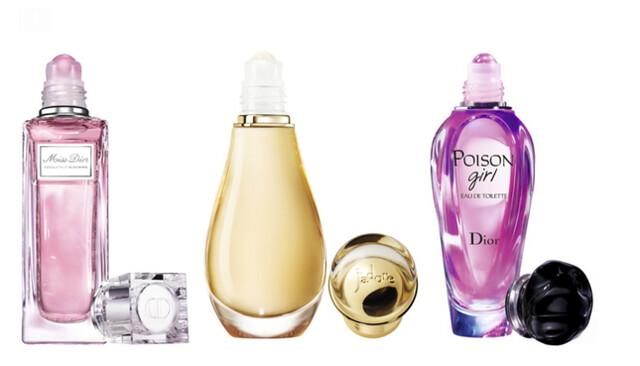 Disfruta de tu perfume este verano con los Roller-Pearl de Dior
