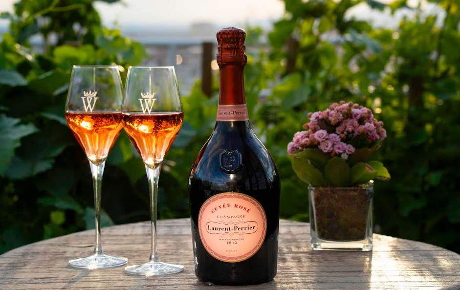 Este verano, ¡la Terraza del Hotel Wellington se viste de Laurent-Perrier Cuvée Rosé!