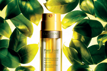 Plant Gold, El 'oro de las plantas' : Un nuevo tratamiento de Aromaphytocare de Clarins, nutritivo y revitalizante para el rostro