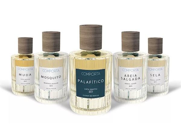 Reinterpretación del frasco de Comporta Perfumes de la mano de Vista Alegre