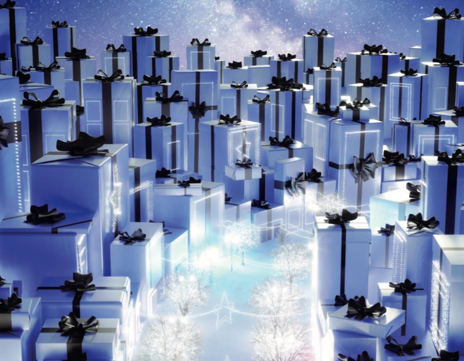 Angel Christmas Collector : ¿Y si el azul fuera el color de las Fiestas?