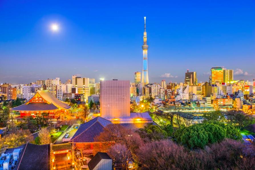 Japon Tsukimi luna