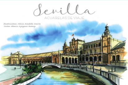 Acuarelas Viaje Sevilla