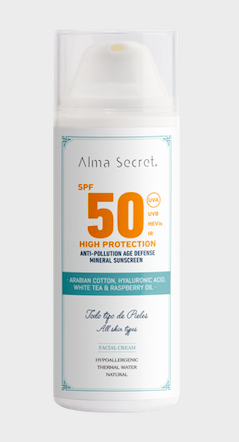 Alma secret solar facial