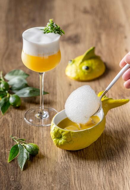 Mandarín Oriental Ritz Madrid liquid cuisine