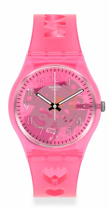 Reloj Swatch rosa
