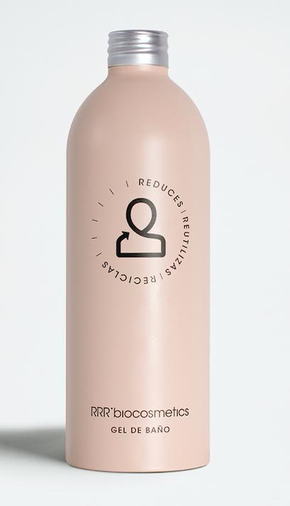 RRR'biocosmetics gel de baño