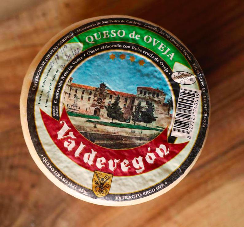 Burgos queso Valdevegon