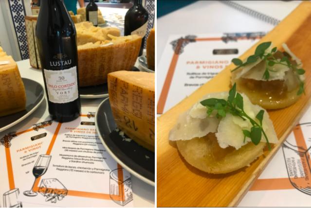 Parmigiano Reggiano Vinos Jerez