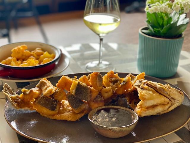 Portonovo dorada frita
