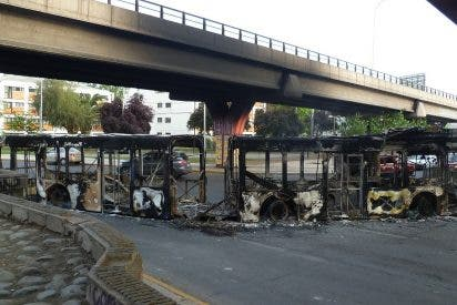 Protesta popular en Santiago de Chile (II)