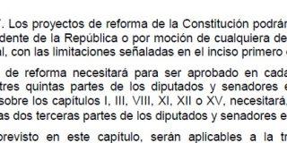 """La Constitución pinochetista que ha dado """"estabilidad"""" a Chile"""