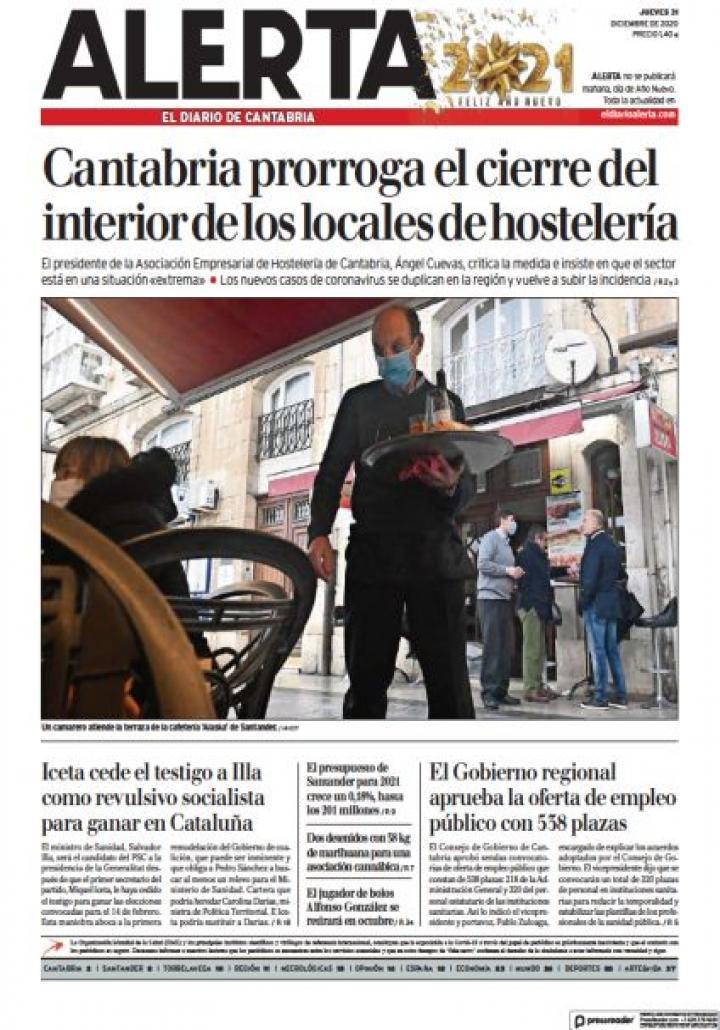Alerta El diario de Cantabria