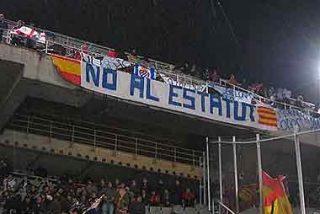 ¿Emitió la televisión catalana esta imagen durante el partido?