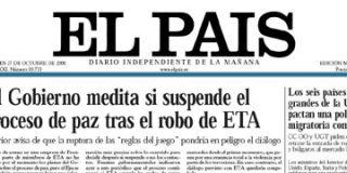 ¿Por qué rectifica El País sobre la intención de Zapatero?
