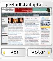 """Periodista Digital opta al premio de """"Mejor Sitio Web del Año"""""""