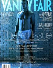 Brad Pitt, semidesnudo en la portada de Vanity Fair