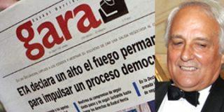 El proetarra Gara apunta a Raúl del Pozo