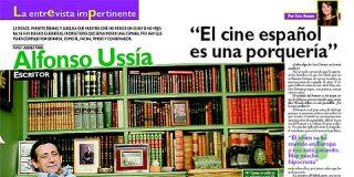 """Alfonso Ussía: """"El cine español es una porquería"""""""