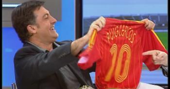 Puigcercós luce la camiseta española