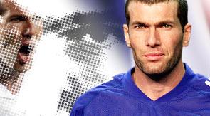 El affaire de Zidane con la cantante de soul
