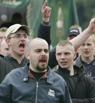 El racismo neonazi, peligro para el Mundial