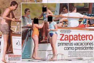 Sonsoles Espinosa cambia la piscina de la Guardia Civil por la del Hotel AC