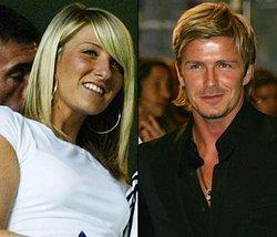 """Un diario alemán llama """"gordinflona"""" a la hermana de Beckham"""