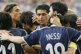 Argentina - Holanda, choque frontal