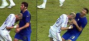 La canción sobre el cabezazo de Zidane en el Mundial se convierte en un éxito