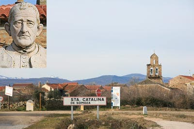Aquilino Pastor, el tamborilero de St. Catalina de Somoza