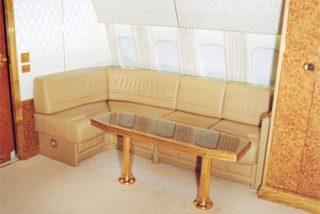 Así es el avión de lujo de Putin