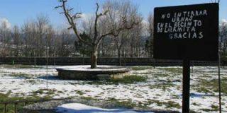 'No enterrar urnas en el recinto de la Ermita del Cristo del Caloco'
