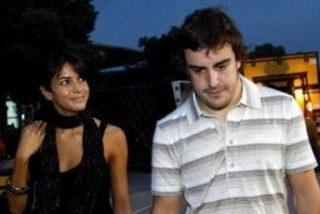 Alonso y Raquel del Rosario, amor en la pista